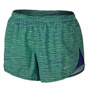 Nike Equilibrium Modern Tempo Shorts Green Blue